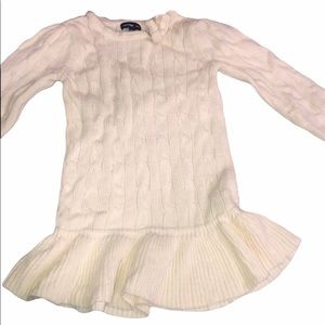 2/$20 Gap Cable Knit Sweater Dress 18 Months
